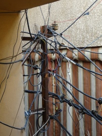 'Sharing' electricity in times of need. (c) Fiddian-Qasmiyeh