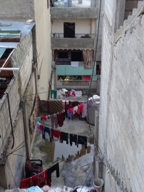 Everyday life in Baddawi refugee camp, North Lebanon. (c) Fiddian-Qasmiyeh