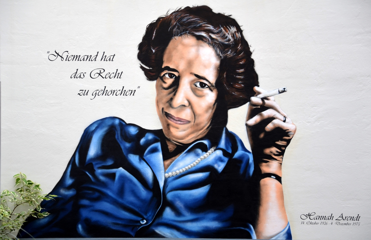 Hannah Arendt: On Displacement and Political Judgement