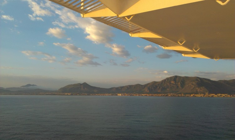 The coast of Sicily