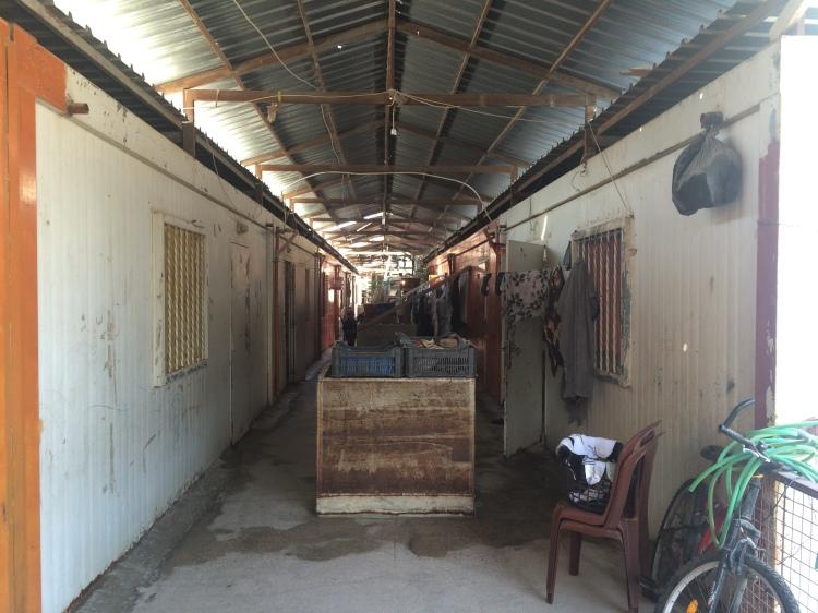 Inside the precarious barracks of Nahr el-Bared (c) S. Fogliata
