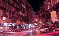 Night time in Hamra, Beirut, a home to many refugees from Syria (Creative Commons)