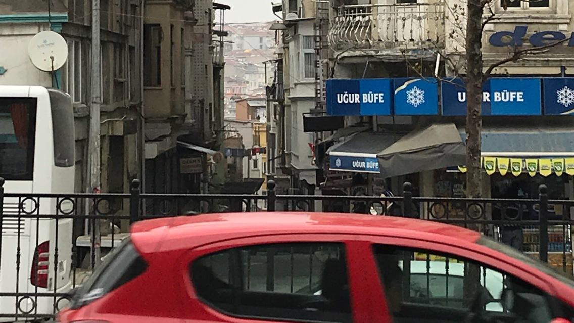 Beyoglu region of Istanbul (c) A. Greatrick, Feb 2018